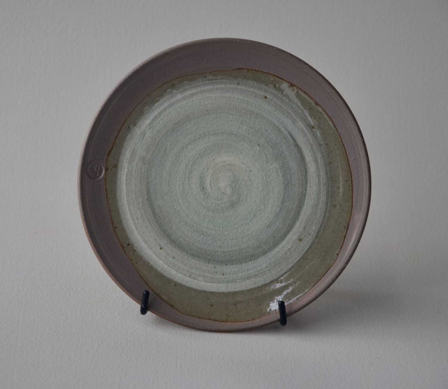 SmlPlate01a-Slip:celadon-JHendy8:21