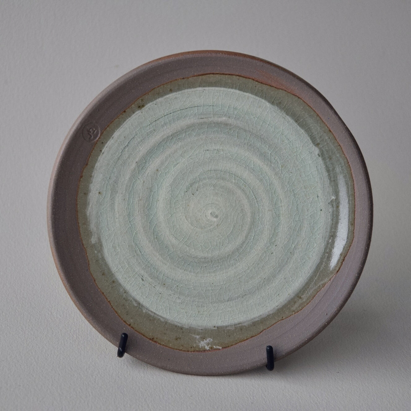 SmlPlate02a-slip:celadon-JHendy8:21